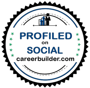 Profiled on Social Career Builder